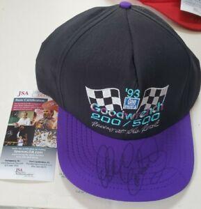 NICE Autographed Dale Earnhardt Sr Vintage Snapback Hat Goodwrench 200 / 500 JSA