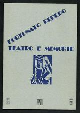 Fortunato Depero : Teatro e memorie - catalogo mostra 1992 - come nuovo