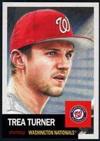 2018 Topps MLB The Living Set #134 Trea Turner Washington Nationals