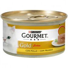 PATES PARA GATOS PURINA® GOURMET® Gold Fondant con Pollo 85g PATE SNACK DE GATO