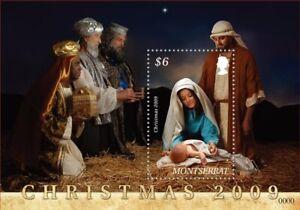 Montserrat - 2009 Christmas Nativity Scene - Souvenir Sheet - MNH