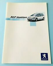 Peugeot 307 Station - catalogo di vendita brochure informativa NUOVO collezione
