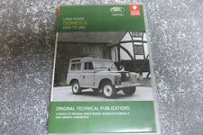 LHP20  LANDROVER SERIES 2 PARTS/WORKSHOP MANUAL + OWNERS LITERATURE  CD ROM