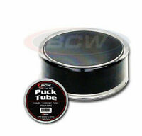 ~NHL Hockey Puck Round Display Holder Case Stackable Memorabilia Regular Puck