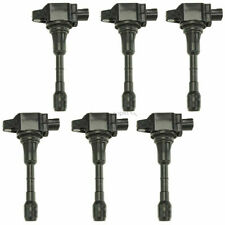 6 Pcs OEM Ignition Coils for Nissan 370Z Infiniti G37 M37 Q60 Q70 QX50 V6 3.7L