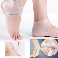 1 pair Silicone Moisturizing Gel Heel Socks Cracked Skin Foot Care Protectors
