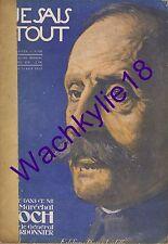Je sais tout 155 15/10/1918 Foch Leconte Lisle Tirailleurs sénégalais Médailles