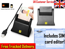 SIM Card Writer Reader Driver SIM Software Smart Contact USB EMV IC Chip Reader