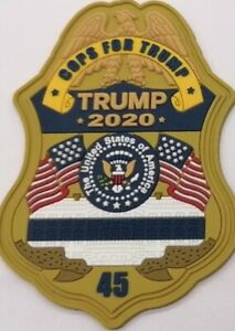 Cops For Trump - Police Patch