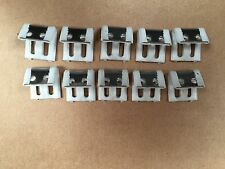 10 Zig Zag Springs Clips / Spring Fixings Staple Fix Upholstery Supplies