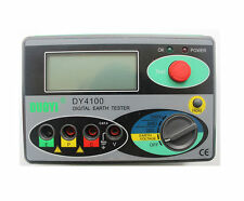 DY4100 Digital Earth Ground Resistance Meter Tester 0~20/200/2000Ω