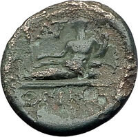 ODESSOS in THRACE 200BC Authentic Ancient Greek Coin APOLLO GREAT GOD i61327