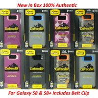 New Otterbox Defender Series Case for Samsung Galaxy S8 & S8+ Plus With Holster