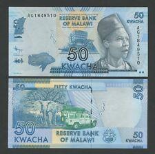 Malawi - 50 kwacha 2012 P58 universel (billets)