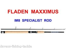 FLADEN MAXXIMUS IM8 12ft CARBON SPECIALIST ROD PIKE BASS SALMON TROUT SPINNING