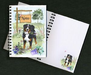 Bernese Mountain Dog Notebook/Notepad + small image on each page by Starprint