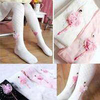 Kid Toddler Children Clothes Flowers Designed Ballet Girls Tight Panty-hose