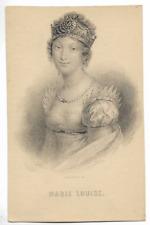 """CPA """" Napoléon Bonaparte  *** MARIE LOUISE ***"""