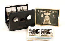 Camerascope 3D Viewer & Set of Tokyo, Japan Stereo Cards. Other Views Listed