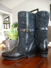 PAJAR Shearling sheepskin lined Leather Boots 8.5W
