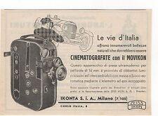 Pubblicità 1934 MOVIKON IKONTA ZEISS IKON FILM FOTO old advert werbung publicitè
