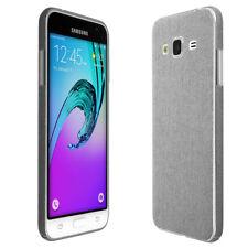 Skinomi Brushed Aluminum Skin & Screen Protector for Samsung Galaxy J3