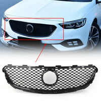 Car ABS Front Bumper Radiator Grille Grill  Guard For 2017-19 Buick Regal Black