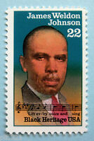 Sc # 2371 ~ 22 cent James Weldon Johnson Issue (bb5)