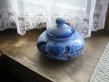 Blue Bird Pottery Folk Art Mexico Nicolas Patricio