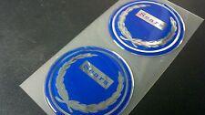 52mmRepro Sears Allstate Vespa Puch Gilera badges Blue vintage style