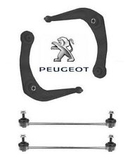 Peugeot 206 SW ESTATE + HDi (98-06) FRONT SUSPENSION ARMS WISHBONES AND LINKS x2