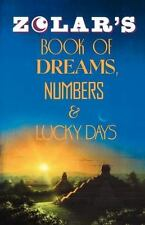 Zolar's Book of Dreams, Numbers, and Lucky Days US SC 1st/13th NF