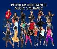 Flash Sale》LINE DANCE #2 MUSIC CD》Slide》Wobble》Booty Call》Shuffle》Hustle