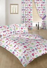 Cute Pets Children's Double Bed Duvet Cover Set & 2 Pillowcases Bedding Kids