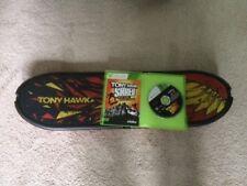 XBOX 360 TONY HAWK SHRED SKATEBOARD,  COMPLETE WITH BOARD,CD,MANUALS - NEAR NEW