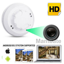 1080P HD Wireless Wifi Hidden Spy Camera Smoke Detector Cam Security Camera