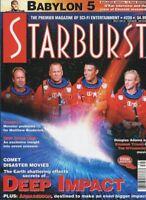 Starburst #239 July6 1998 Deep Impact Babylon 5 Armageddon unread MBX110