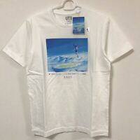 UNIQLO Makoto Shinkai Weathering with You UT MEN'S T-Shirt Graphic White S-4XL