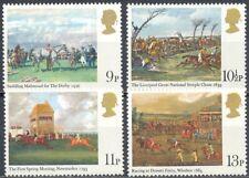 Gran Bretaña 1979 Yvert nº 892/95 Pinturas carreras de caballos