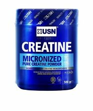 USN Creatine Monohydrate Size and Strength Powder - 500 g New