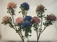 Fleurs artificielles et séchées de décoration intérieure campagnes