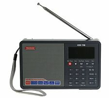 Tecsun ICR-110 4-in-1 Digital Portable AM/FM Radio + MP3 Player + Recorder
