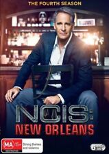 NCIS NEW ORLEANS - SEASON 4 official  -  DVD - UK Compatible sealed