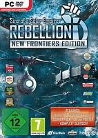 Sins of Solar Empire Rebellion New Frontiers Edition  PC-DVD SPIEL NEU & OVP