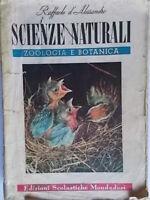 Scienze naturali 1 zoologia e botanica D'Alessandro mondadori scuola superiore