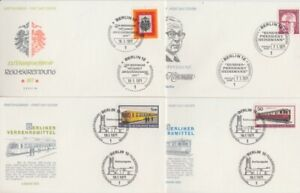 Berlin Lot 22 FDC - First Day Covers