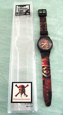 DISNEY PIRATES OF THE CARIBBEAN WATCH by TIME WORKS - SKULL SKELETON NEW LHK1001