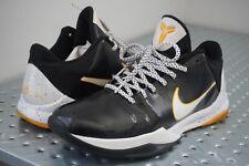 Nike Zoom Kobe 5 V Del Sol Men's Size 10.5 Black White Yellow 386429-002