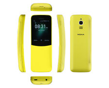 Brand New Nokia 8110 4G TA-1059 DS Yellow Dual Sim 512MB [Overseas Model]