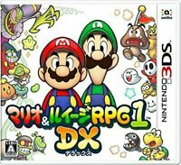 USED Nintendo 3DS Mario & Luigi RPG1 DX